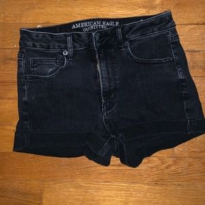 Super high rise American Eagle Shorts, size 4